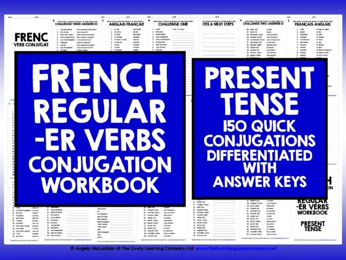 FRENCH -ER VERBS 1