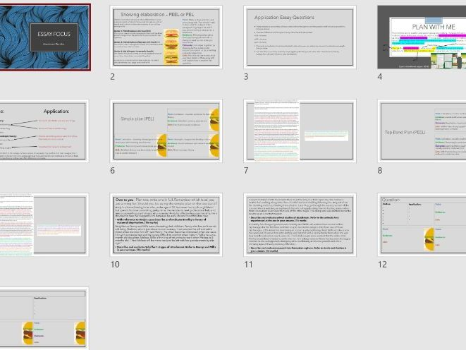 16 Mark Essay with AO2 Breakdown