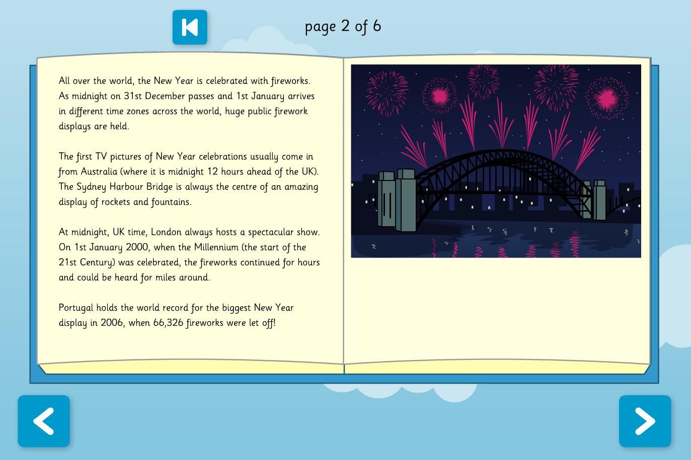 Fireworks Interactive Information Book - Reading Level C - Bonfire Night KS2