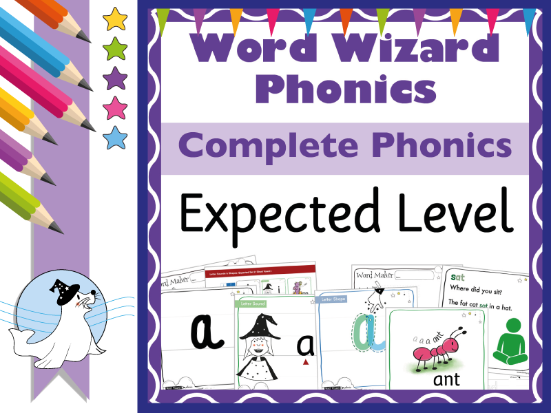 Word Wizard Phonics Complete Expected Sets