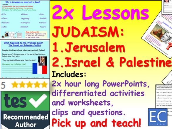 Jerusalem, Israel and Palestine