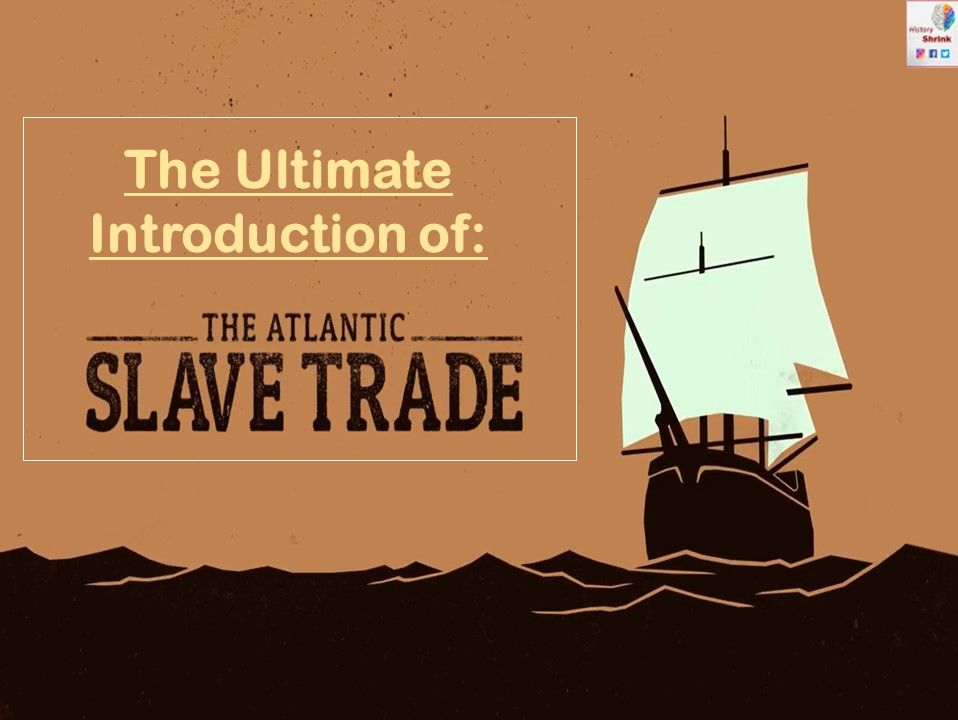 The Triangular Trade (Slave Trade)