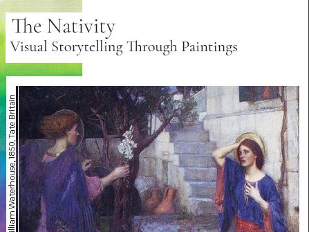The Nativity: Visual Storytelling Through Paintings