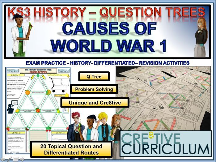 Causes of WW1 - History HIS/C8F/TL/03