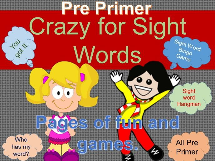 Sight Word Crazy