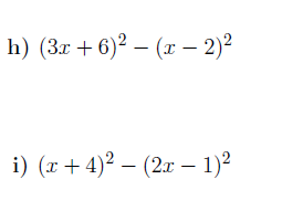 Expanding and simplifying expressions (harder) worksheet (with solutions)
