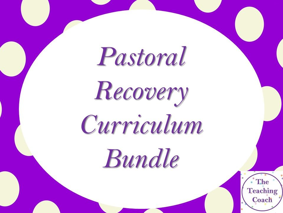 Recovery COVID Curriculum Resources - Pastoral Form Time Head of Year Bundle