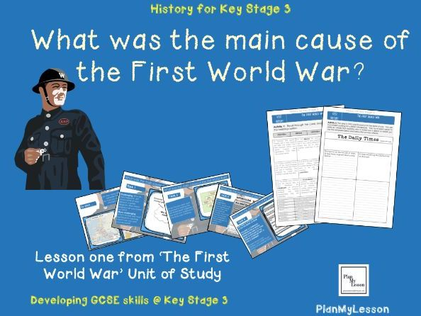 what were the three main causes of ww1