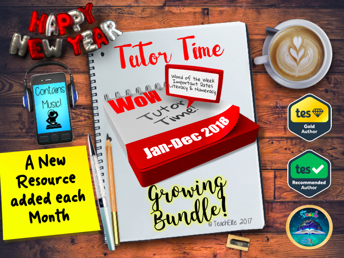 2018 Tutor Time Growing Bundle