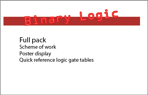 Binary logic gates bundle