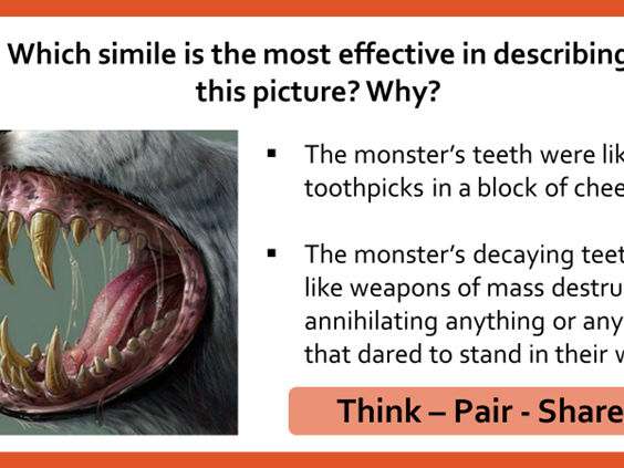 Creating Effective Metaphors and Similes