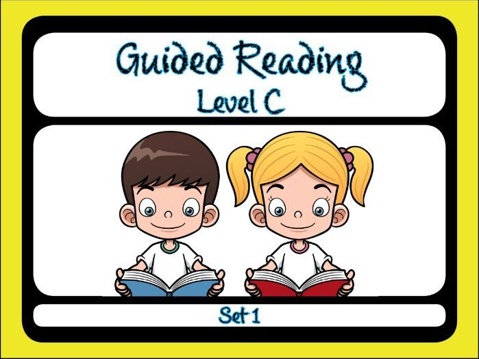 Guided Reading Level C Set 1