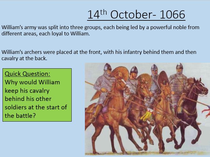 Battle of Hastings - Ks3