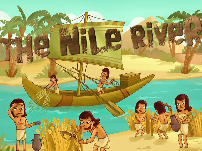 The Nile River Audiobook & Classroom Activity