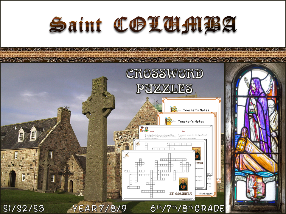 St. Columba crosswords