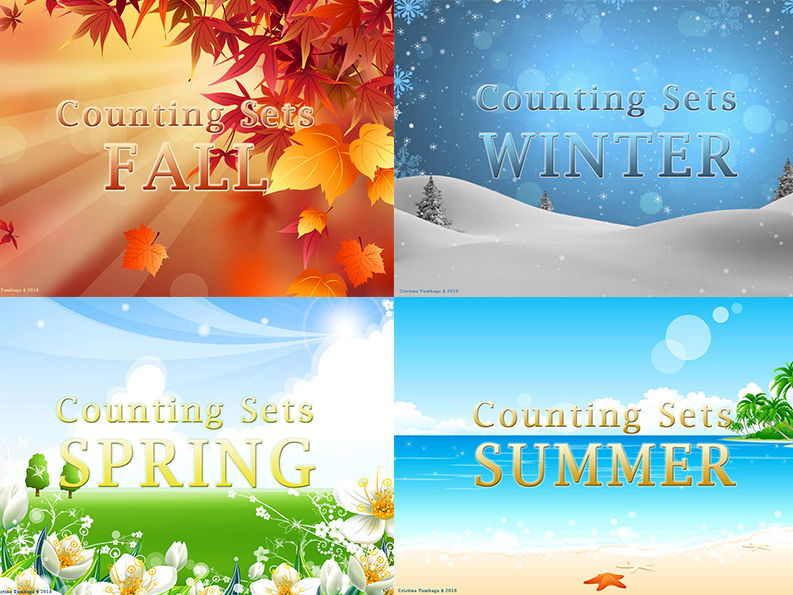 Counting Sets ( Seasonal Bundle)