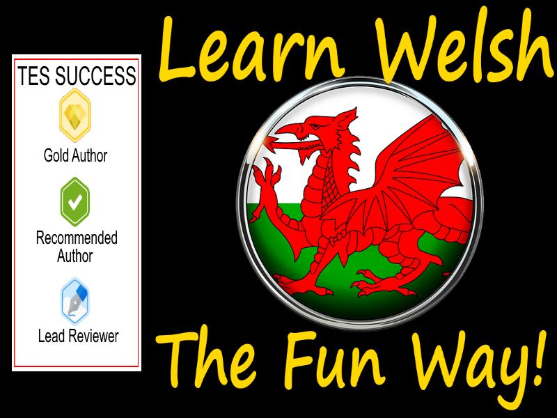 Learning Welsh The Fun Way! - Bundle