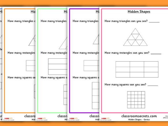 Differentiated Hidden Shapes Challenges
