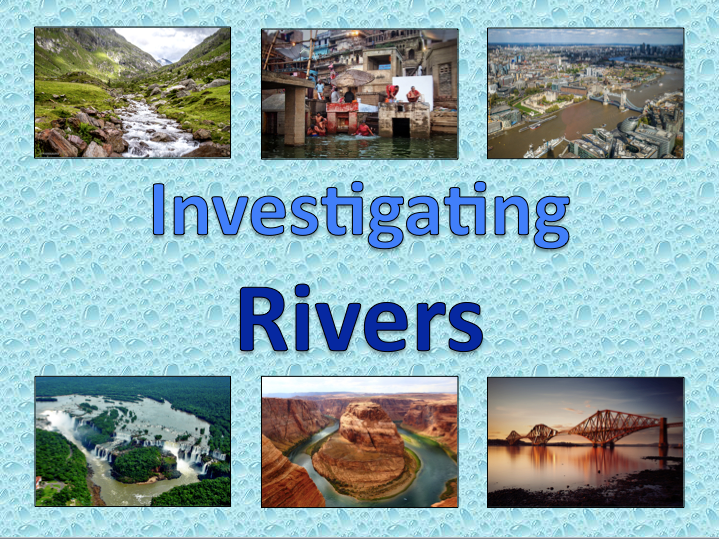 Investigating Rivers - medium term plan & topic title page