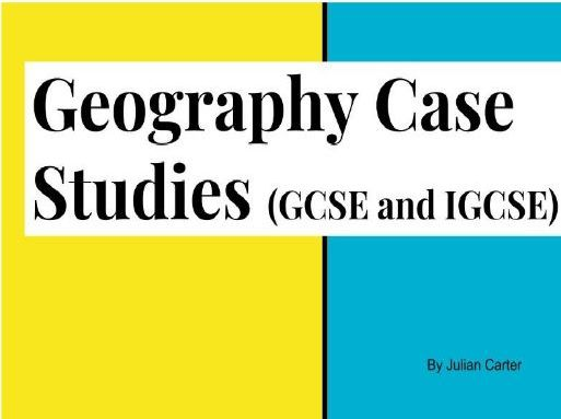 Geography GCSE / IGCSE Revision
