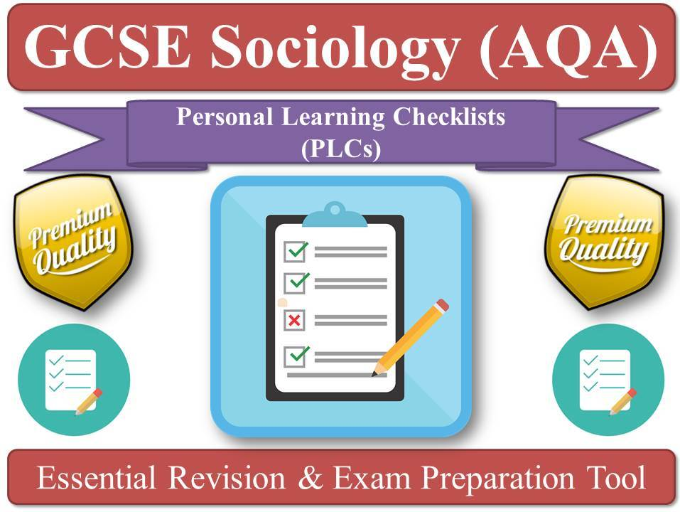 AQA GCSE Sociology PLC Pack! [Temporary Offer for my Beloved Facebook Group Members!]