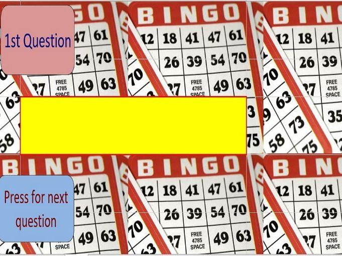 Bingo – Inequalities