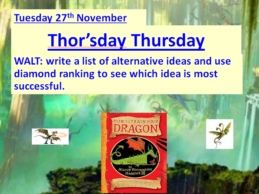 How To Train Your Dragon  Ready-to-use lessons for Chapters 10 - 20 **NEW & UPDATED**