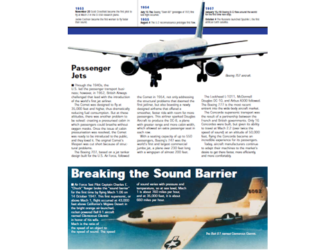 The history of Aviation by NASA comprehension KS2