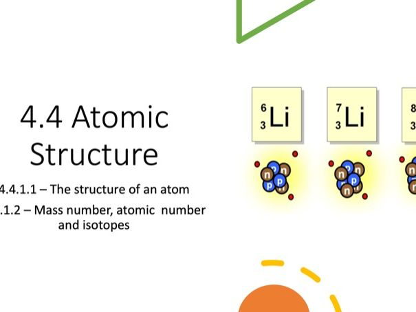 Atomic Structure, Mass and Isotopes