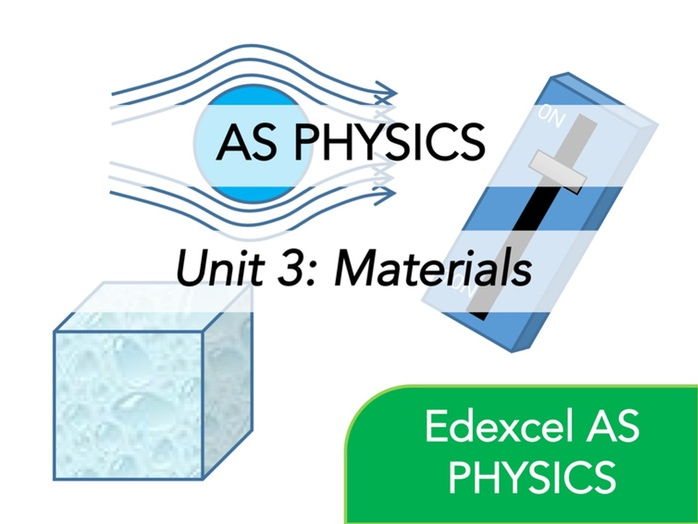 Edexcel AS Physics - Materials - Whole Course Content - Revision, Questions, Full Notes