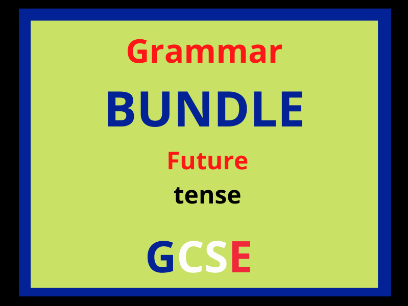 French future tense revision (variety of GCSE topics)