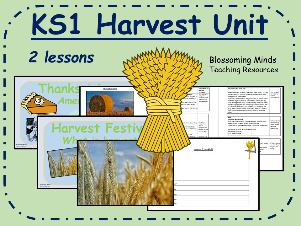 KS1 Harvest RE (2 lessons)