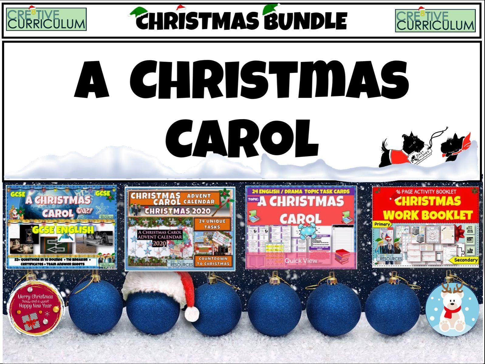 A Christmas Carol GCSE English