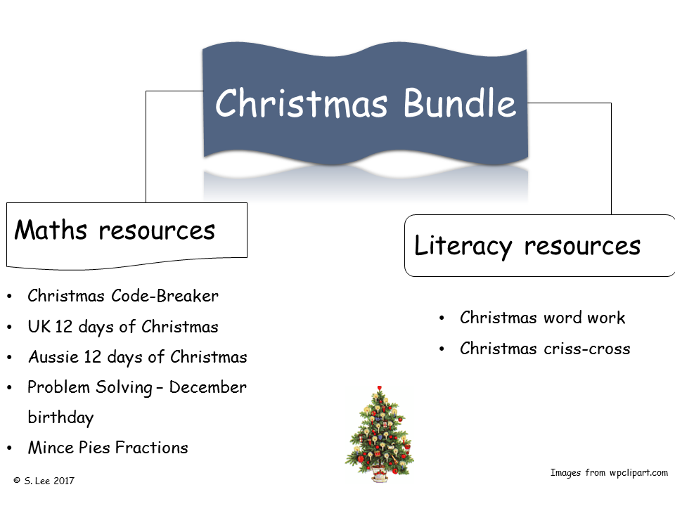 Christmas Literacy & Numeracy activities