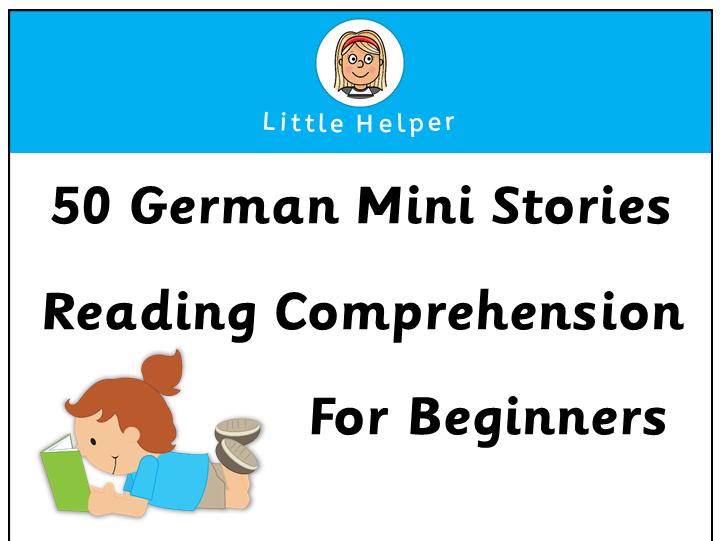German Reading Comprehension