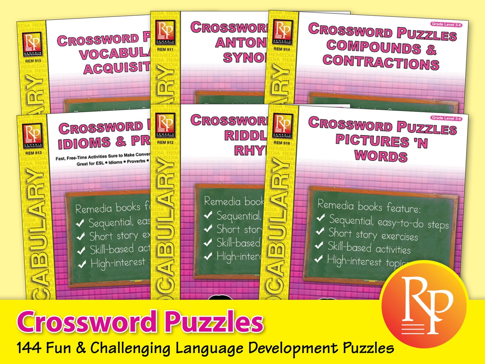 Vocabulary Acquisition: Crossword Puzzles by RemediaPub - Teaching ...