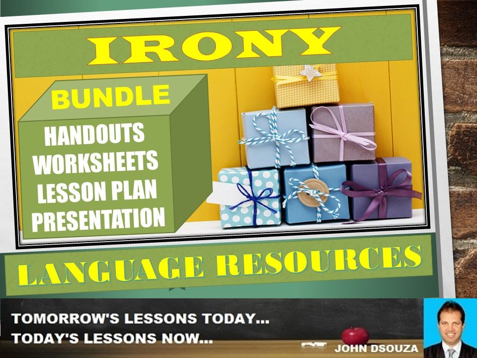IRONY TYPES BUNDLE