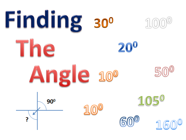 Finding Angles of Intersecting Lines
