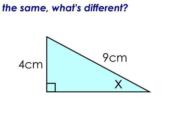 Trigonometry: Missing Angles: Edexcel GCSE Foundation 2018