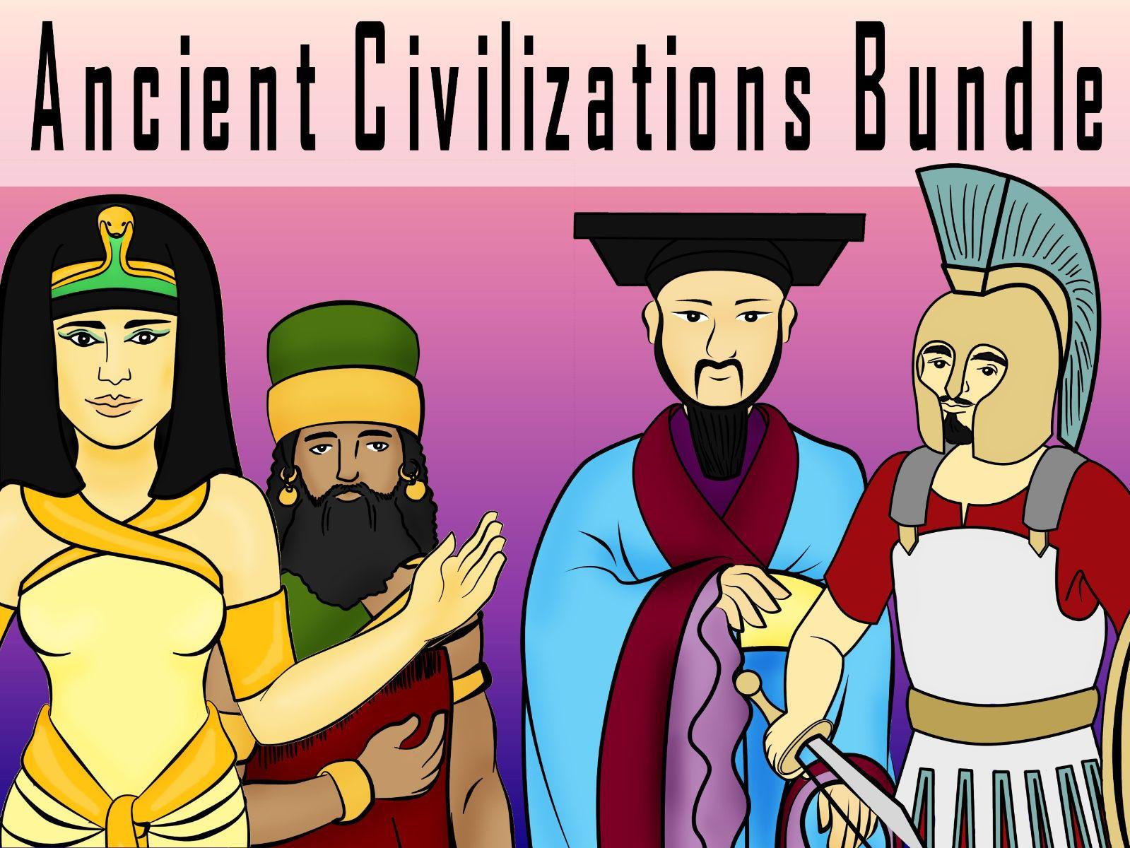Ancient Civilizations Engaging Cross-Curricular Bundle