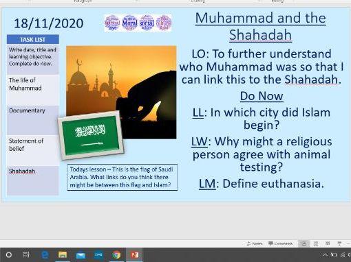 Muhammad and the Shahadah