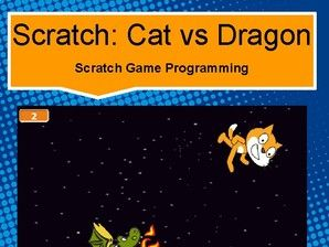 Scratch: Cat vs Dragon - Game Programming (Basics #5)