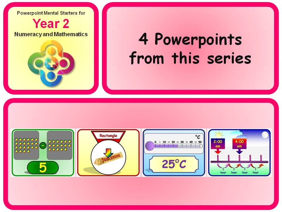 KS1 Year 2 Maths Mental Starters 15