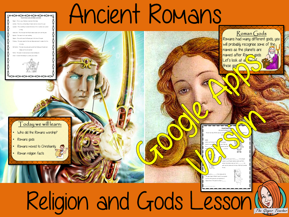 Distance Learning Ancient Roman Religion and Gods