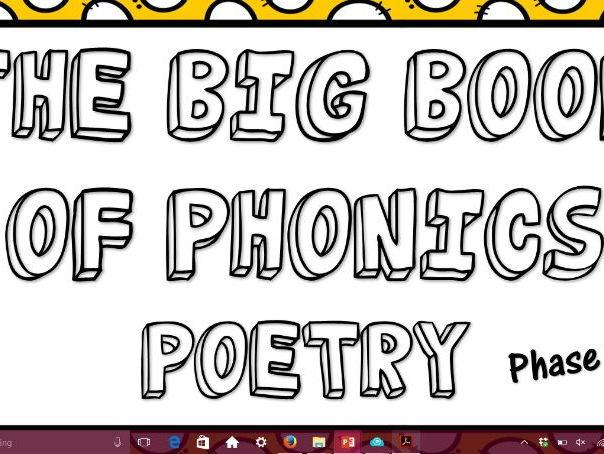 Phonics Poetry Phase 5