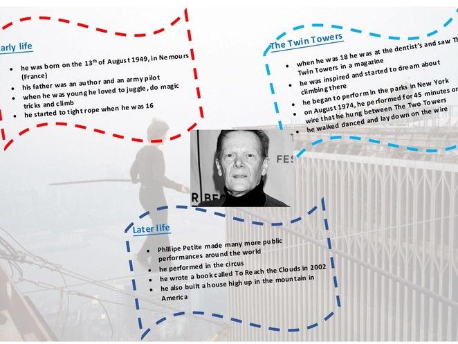 Phillipe Petite information sheet