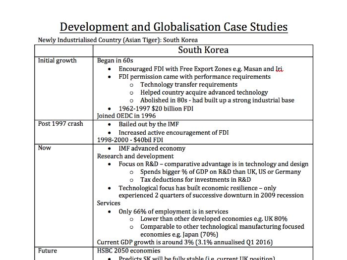 a level geography aqa world cities mark model essay a standard  aqa a2 geography development and globalisation case studies