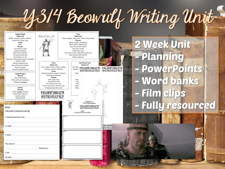 Y3 / Y4 BEOWULF English Unit - 2 Weeks