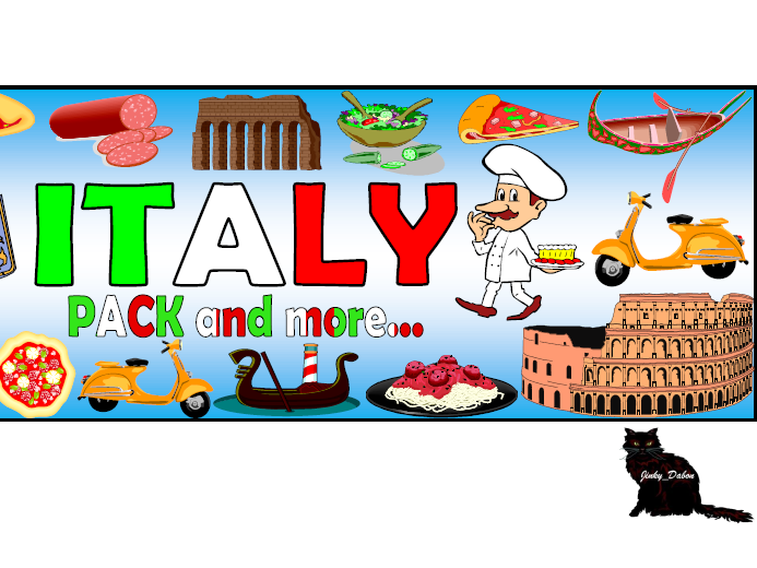 Flag of Italy Themed Pack