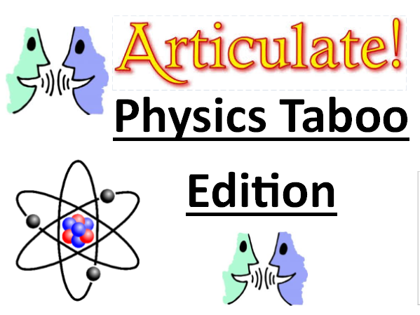 GCSE Physics - AQA Energy Key Terminology Game (Articulate/taboo)